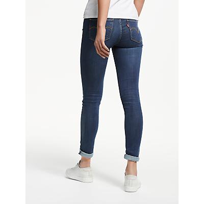 Levi's 711 Mid Rise Skinny Jeans, City Blues