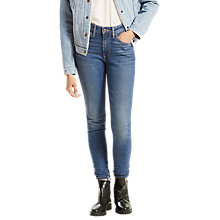 Buy Levi's 721 High Rise Skinny Jeans, Fine Line Online at johnlewis.com
