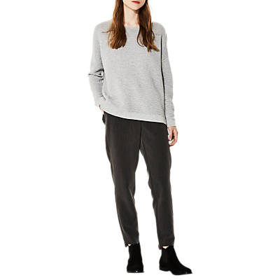 Selected Femme Laua Jumper, Light Grey Marl