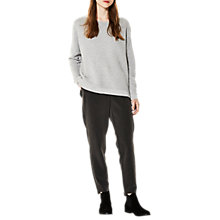 Buy Selected Femme Laua Jumper, Light Grey Marl Online at johnlewis.com