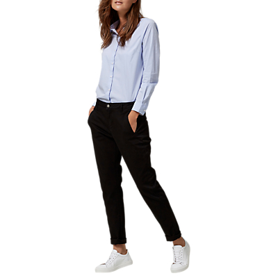 Selected Femme Ingrid Chinos, Black