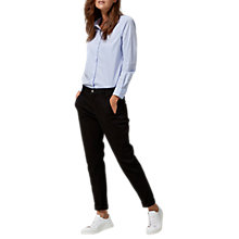 Buy Selected Femme Ingrid Chinos, Black Online at johnlewis.com