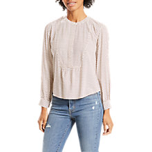 Buy Levi's Marina Print Blouse, Orchid Oatmeal Online at johnlewis.com