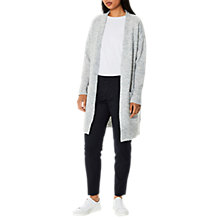 Buy Selected Femme Livana Cardigan, Light Grey Online at johnlewis.com
