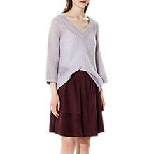 Buy Selected Femme Jina Knit Jumper, Evening Haze Online at johnlewis.com
