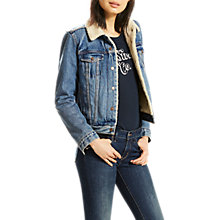 Buy Levi's Original Sherpa Trucker Jacket, Extremely Lovable Online at johnlewis.com