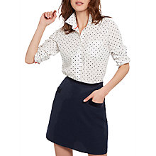 Buy Joules Carole Tweed Mini Skirt, Navy Tweed Online at johnlewis.com