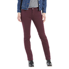 Buy Levi's 712 Slim Jeans, Malbec Online at johnlewis.com