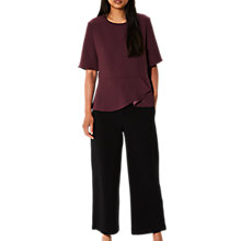 Buy Selected Femme Newa Top, Mauve Wine Online at johnlewis.com