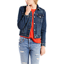 Buy Levi's Original Trucker Jacket, Lust For Life Online at johnlewis.com