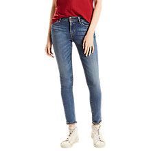 Buy Levi's 711 Mid Rise Skinny Jeans, Antiqued Online at johnlewis.com