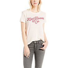 Buy Levi's The Perfect Graphic T-Shirt, Marshamallow Online at johnlewis.com
