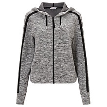 Buy Calvin Klein Hava Logo Hoodie, Black Heather Online at johnlewis.com