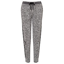 Buy Calvin Klein Peri Logo Sweatpants, Black Heather Online at johnlewis.com