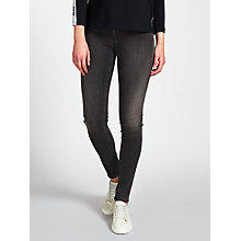 Buy Calvin Klein Mid Rise Skinny Jeans, Roxy Grey Online at johnlewis.com