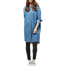 Buy Selected Femme Denim Dress, Light Denim Blue Online at johnlewis.com