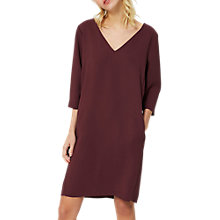 Buy Selected Femme Tunni Dress, Mauve Wine Online at johnlewis.com