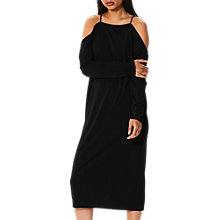 Buy Selected Femme Mily Off Shoulder Dress, Black Online at johnlewis.com