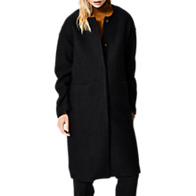 Buy Selected Femme Kiki Wool Blend Coat, Black Online at johnlewis.com