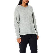 Buy Selected Femme Layla Knit Jumper, Grey Online at johnlewis.com