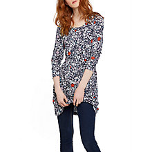 Buy Joules Kirsten Jersey Tunic Dress, French Navy Ditsy Online at johnlewis.com