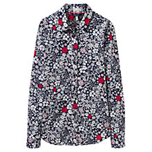 Buy Joules Lucie Printed Shirt, French Navy Online at johnlewis.com
