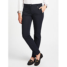 Buy Gerry Weber Tech Trousers, Indigo Online at johnlewis.com