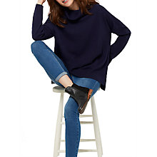 Buy Joules Rolanda Roll Neck Jumper, French Navy Online at johnlewis.com