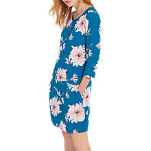 Buy Joules Ambion Shift Dress, Dark Topaz Peony Online at johnlewis.com