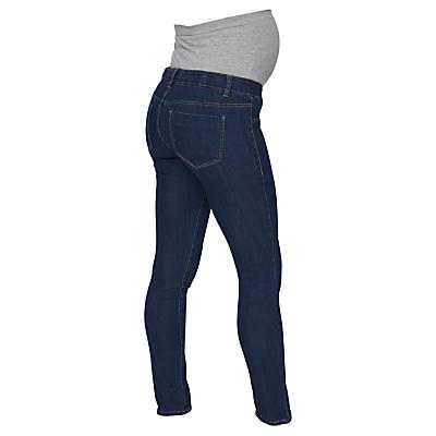 Mamalicious Julia Slim Fit Maternity Jeans, Denim Blue