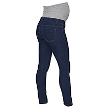 Buy Mamalicious Julia Slim Fit Maternity Jeans, Denim Blue Online at johnlewis.com