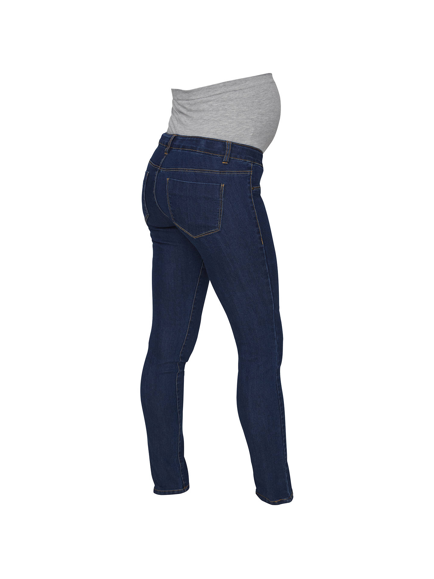 53d40c5807b17 Buy Mamalicious Julia Slim Fit Maternity Jeans, Denim Blue, 26R Online at  johnlewis.