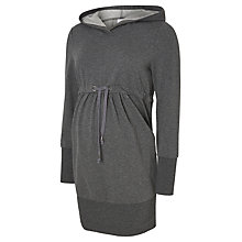 Buy Mamalicious Karla Long Sleeve Maternity Sweatshirt, grey Melange Online at johnlewis.com