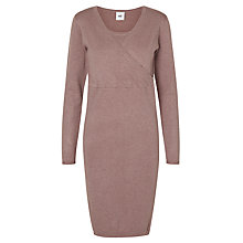 Buy Mamalicious Zolanda Tess Long Sleeve Knit Maternity Dress Online at johnlewis.com