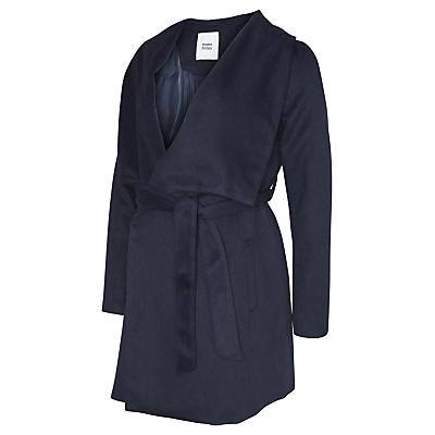 Mamalicious Roya Maternity Coat, Navy