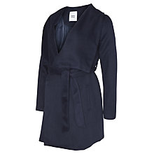Buy Mamalicious Roya Maternity Coat, Navy Online at johnlewis.com