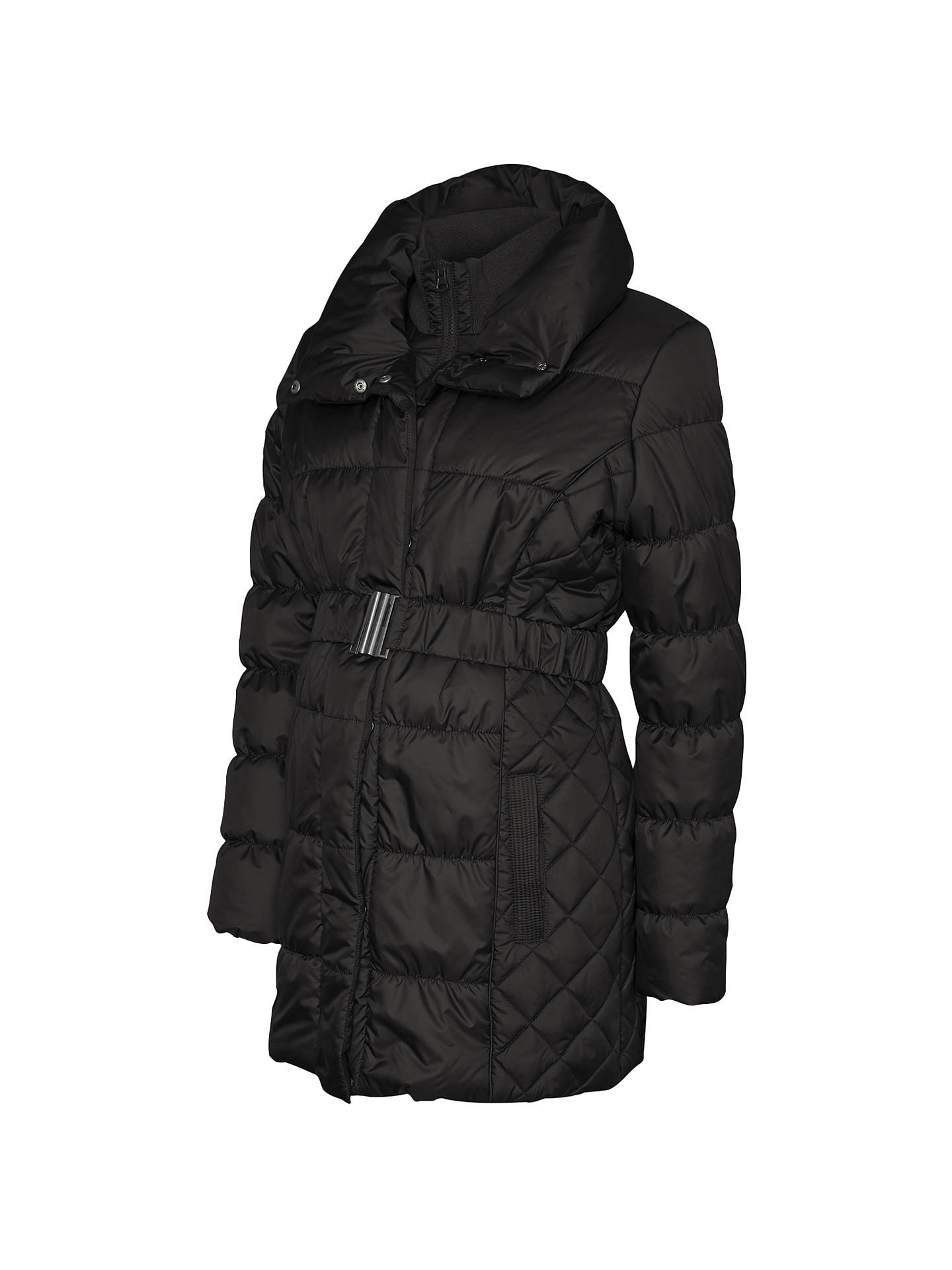 95a844e36 Buy Mamalicious Zita Long Quilted Padded Maternity Coat