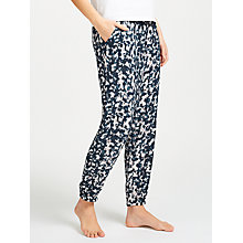Buy Calvin Klein Mesmerizing Print Pyjama Bottoms, Navy/Pink Online at johnlewis.com