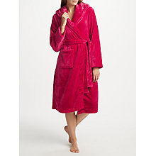 Buy John Lewis Shimmer Fleece Dressing Gown Online at johnlewis.com