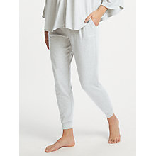 Buy Calvin Klein Jogger Pyjama Bottoms, Grey Heather Online at johnlewis.com