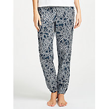 Buy Calvin Klein Nest Print Pyjama Bottoms, Navy Online at johnlewis.com