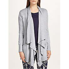 Buy John Lewis Longline Cardigan, Grey Online at johnlewis.com