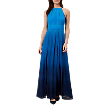 Buy Hobbs Alexis Maxi Dress, Kingfisher Blue Online at johnlewis.com
