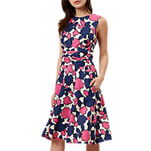 Buy Hobbs Colwyn Twitchill Dress, Natural/Multi Online at johnlewis.com