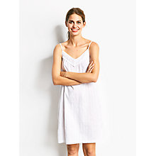 Buy hush Louella Nightie, White Online at johnlewis.com