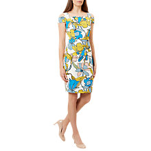 Buy Hobbs Taliah Dress, Ivory/Multi Online at johnlewis.com