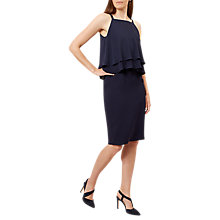 Buy Hobbs Coralie Dress, Navy Online at johnlewis.com