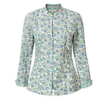 Buy East Handblock Kavita Print Jacket, Viola Online at johnlewis.com
