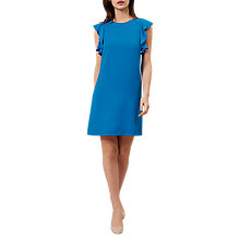 Buy Hobbs Ivy Dress, Kingfisher Blue Online at johnlewis.com