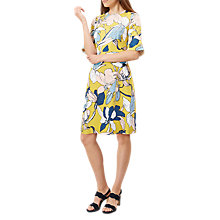 Buy Hobbs Charlie Dress, Lemondrop/Multi Online at johnlewis.com